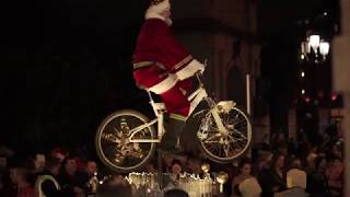 Download Christmas lights up Dublin 🎄 Video