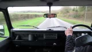 Download Land Rover Defender 110 CSW test drive Video