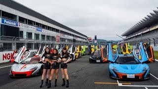 Download Japan's Largest Mclaren Track Day (70 Cars...& a few Models) Video