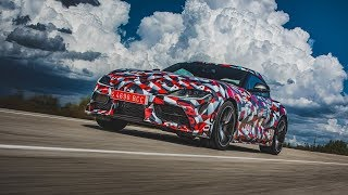 Download The all-new Toyota Supra - Global First Drive Impression Video