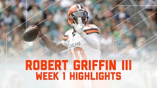 Download Every RGIII Throw | Browns vs. Eagles | NFL Week 1 Player Highlights Video