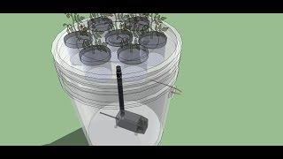 Download 5 Gallon Bucket Aeroponics - The easiest aeroponics system to build - Full Class HD Video