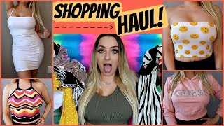 Download BIGGEST mall in North America HAUL!! *Try On* Video