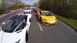 Download Asian Wedding Baraat Day | Ali & Sadhaf | Super Cars Highlights 2016 Video