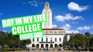 Download DAY IN MY LIFE: COLLEGE (First Day) University of Texas | JustAli Video