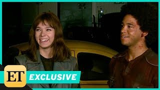Download Behind the Scenes of Bumblebee With John Cena and Hailee Steinfeld (Exclusive) Video