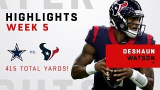 Download Deshaun Watson w/ 415 Total Yards in OT Victory! Video