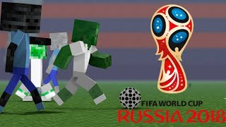 Download Monster School : FIFA WORLD CUP 2018 RUSSIA Challenge - Minecraft Animation Video