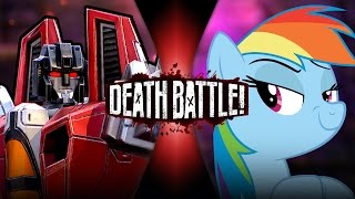 Download Starscream VS Rainbow Dash (Transformers VS My Little Pony) | DEATH BATTLE! Video