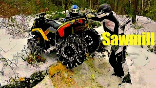 Download 2017 Yamaha Grizzly 700 Alpine White (LUMBERJACK CHALLENGE) Video