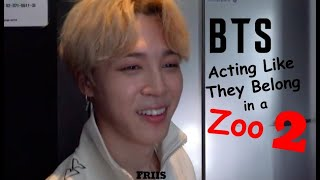 Download 10 Minutes of BTS Acting Like They Belong in a Zoo 2 Video
