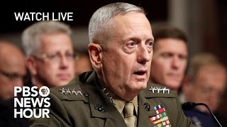 Download WATCH LIVE: James Mattis confirmation hearing Video
