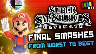 Download Ranking Every Final Smash from Super Smash Bros Ultimate [TetraBitGaming] Video