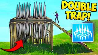 Download THE *NEW* DOUBLE TRAP TRICK! - Fortnite Funny Fails and WTF Moments! #237 (Daily Moments) Video