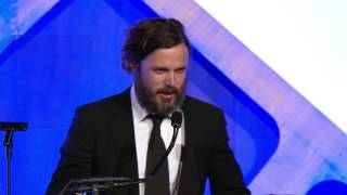 Download Casey Affleck winning the 2016 IFP Gotham Award for Best Actor for MANCHESTER BY THE SEA Video