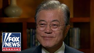 Download Moon Jae-in talks Trump, Kim in one-on-one with Fox News Video