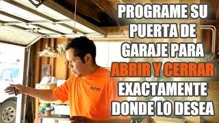 Download Programe su Puerta de Garaje para Abrir y Cerrar Exactamente Donde lo Desea Video