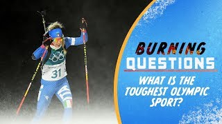 Download What is the toughest Olympic Sport? | Burning Questions Video