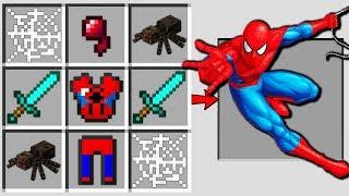 Download Minecraft Battle : HOW TO CRAFT SPIDER MAN Challenge in Minecraft Animation Video