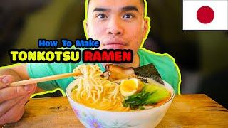 Download How to make TONKOTSU RAMEN Video