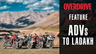 Download Adventure bikes to Ladakh | Feature | OVERDRIVE Video