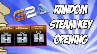 Download G2A 10 Random STEAM CD-KEY Opening! Video