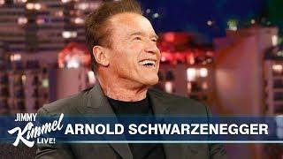 Download Arnold Schwarzenegger on Son-in-law Chris Pratt, Pranking Sylvester Stallone & Terminator's Return Video