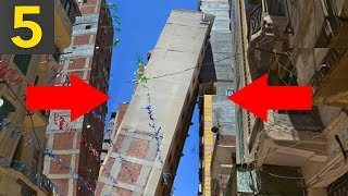 Download Top 5 TERRIBLY Built Buildings - bad construction Video