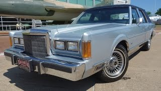 Download Classic 1989 Lincoln Town Car experience Video