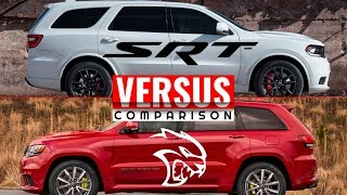 Download 2018 GRAND CHEROKEE TRACKHAWK VS 2018 DURANGO SRT Video