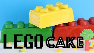 Download GIANT LEGO CAKE | Easy LEGO Brick Cake | Elise Strachan | My Cupcake Addiction Video