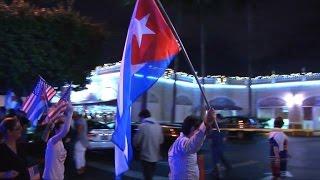 Download Scènes de liesse à Miami après la mort de Fidel Castro Video