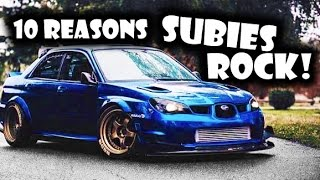 Download 10 Reasons Why The Subaru Impreza ROCKS! Video