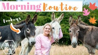 Download MORNING ROUTINE of an Equestrian | Autumn/Fall 2019 | This Esme Video