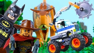 Download LEGO Animation for Kids (COMPILATIONS) STOP MOTION LEGO Superheroes, LEGO City & More   Billy Bricks Video