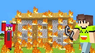 Download TAKING REVENGE In MINECRAFT! (Burning His House Down) Video