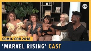 Download Marvel Rising - SDCC 2018 Exclusive Interview Video