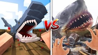 Download Minecraft vs Real Life: How to Go Fishing! (Minecraft Animation) Video