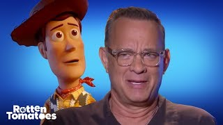 Download 'Toy Story 4' Star Tom Hanks Gets Just As Emotional Over Woody & Buzz As You Do | Rotten Tomatoes Video
