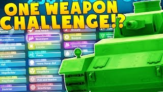 Download ONE WEAPON CHALLENGE VS TEWTIY!? Video