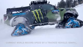 Download Riding Shotgun with Ken Block in the Ford F-150 RaptorTRAX Video