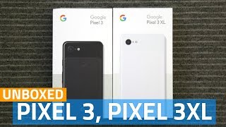 Download Google Pixel 3, Pixel 3 XL Unboxing and First Look Video