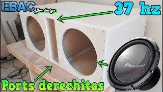 Download Armando cajón porteado para Subwoofers Pioneer Champions Pro TW-3003D4 | EBAC Video