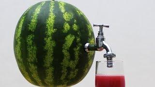 Download DIY Watermelon Juice Video