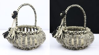 Download How to make a beautiful basket with plastic bottle and jute rope | best out of waste Video