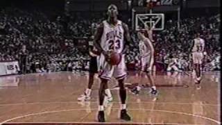 Download Bulls vs Blazers 1992 Finals - Game 6 - Bulls win 2nd NBA title Video