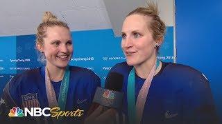 Download 2018 Winter Olympics Recap Day 13 (USA Hockey) I Part 1 I NBC Sports Video