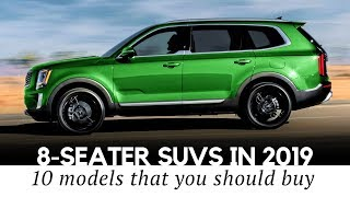 Download Top 10 Spacious 8-Seaters in 2019: New and All-Time Favorite SUVs Video