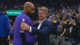 Download Vince Carter Apologizes to Warriors Players & Steve Kerr After Patrick McCaw's Injury! Video