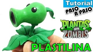 Download ✅COMO HACER LANZAGUISANTES DE PLASTILINA ✅ POLYMER CLAY - PLANTAS VS ZOMBIES Video